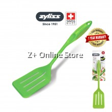 [From Swiss] Zyliss Nylon Slotted Turner Spatula BPA Free Non-Stick Frying Pan Kitchen Utensil Silicone Turner