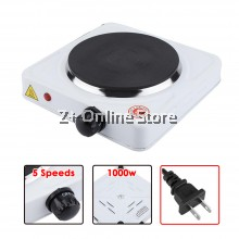 [MALAYSIA 3 PIN PLUG] Mini Electric Stove Cooker Hob for Moka Pot 1000W Portable Steamboat Hot Plate Boil Coffee Tea Milk Campfire Cooking Stove