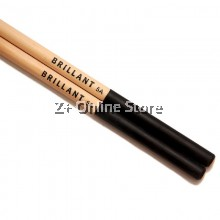 Z PLUS Brillant Anti Slip Maple Wood drum stick drumstick (1 pair) [Black]