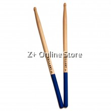 Z PLUS Brillant Anti Slip Maple Wood drum stick drumstick (1 pair) [Blue]