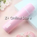 Z PLUS ONE DAY 304 Stainless Steel Thermos Flask 450 ml (Pink)