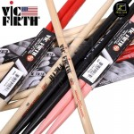 Z PLUS Vic Firth American Classic® 5A 5B Hickory Drum Sticks drumstick (1 pair)