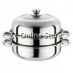 Z PLUS Suhui Multi Purpose 3 Layers Steamer Induction Pot (28cm)