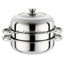 Suhui Multi Purpose 3 Layers Steamer Induction Pot (28cm)