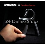 Z PLUS Summitdragon Adjustable Metal Hand Gripper Gym Exercise Wrist Training (Black)