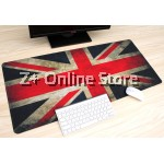 Z PLUS Large Gaming Thickened Desktop Table / Keyboard Mouse Pad  (Lotus) 100cm x 50cm