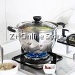 Z PLUS 26cm Tiluck Premium Grade Stainless Steel Induction Cooker Milk Pot