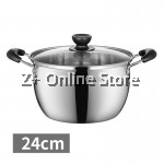 Z PLUS 24cm Tiluck Premium Grade Stainless Steel Induction Cooker Milk Pot