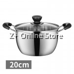 Z PLUS 20cm Tiluck Premium Grade Stainless Steel Induction Cooker Milk Pot