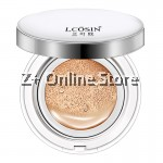 LCOSIN Whitening Make Up Air BB Cushion Cream Concealer CC Primer Makeup Foundation [Expiry 21-Mar-20] Natural Beige