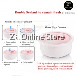 Z PLUS 2.0L Multi Purpose 3 Layer Tier Ceramic Bowl Stainless Steel Bowl Electric Lunch Box Steam