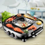 Z PLUS You Shang Multipurpose Electric BBQ Steamboat Shabu Grill Oven (42cm)