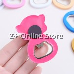 Magnetic Silicone Cartoon Beer Bottle Opener