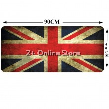 Z PLUS Large Gaming Thickened Desktop / Keyboard Mouse Pad (England)