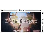 Z PLUS [80cm x40cm] Large Gaming Thickened Desktop / Keyboard Mouse Pad (Baymax)