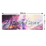 Z PLUS [80cm x 30cm] Large Gaming Thickened Desktop / Keyboard Mouse Pad (Angel Lacus)