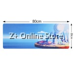 Z PLUS [80cm x 30cm] Large Gaming Thickened Desktop / Keyboard Mouse Pad (Hat)
