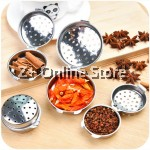 Z PLUS Stainless Steel Seasoning Stew Soup Tea Ball Filter (Medium)