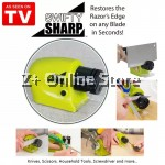 ASOTV Swifty Sharp Cordless Motorized Kitchen Knife Scissors Blade Sharpener