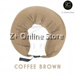 Z PLUS U Shape Nylon Travel Pillow Muji Inspired Microbeads Neck Support Cushion