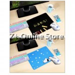 Z PLUS [90cm x40cm] Large Gaming Thickened Desktop / Keyboard Mouse Pad (Totoro3)