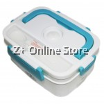 Z PLUS Mini Portable Rectangle Power Saving Electric Meal Box Heating Lunch Box Steamer