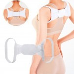 Z PLUS Travel Size Back Support Belt Hunchback Correction Band Kids Adult Posture Corrector