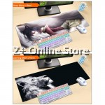 Z PLUS [90cm x40cm] Fairy Tales Large Gaming Thickened Desktop / Keyboard Mouse Pad