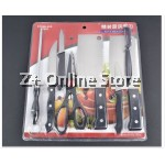 Z PLUS Set of 8 Stainless Steel Kitchen Knives Combo 8 pcs Knife