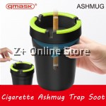 Z PLUS Qmask Cigarette Ashmug Trap Soot Non Smoke Car House Office Use