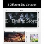 Z PLUS [90cm x40cm] Large Gaming Thickened Desktop / Keyboard Mouse Pad (Star)