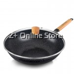 Z PLUS 32cm Wony Non Stick Korean Maifan Stone Cooking Wok