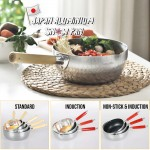 Z PLUS Japanese Yukihira Aluminium Snow Pan 雪平锅 Non Stick Induction Milk Pot Cooking Pot Kitchenware Cookware