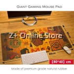 Z PLUS Large Gaming Thickened Desktop / Keyboard Mouse Pad (Apple Icon)