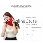 Z PLUS 2018 Ultra Light Weight Scarf Design Travel Pillow Neck Support Washable (136g)
