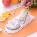 Z PLUS 2 in 1 Japanese Stainless Steel Egg Cutter Slicer