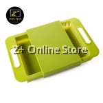 Korean Dual Functions Detachable Chopping Board Sink Drain Basket (620g)