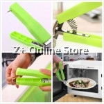 Stainless Steel Hot Pot Pan Dish Gripper Bowl Clipper Clamp Plate Holder