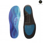 Footlogics Comfort insole Flat Feet Ankle Arch Heel Aching Ball of Foot Pain Spur Relief [Blue]