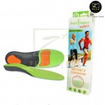 Footlogics Sports Outdoor insole Foot Forefoot Heel Pain Ache Arch Relief Treatment [Green]