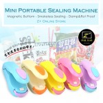 Z PLUS Portable Mini Hand Pressing Snack Plastic Bag Sealing Machine