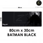 Z PLUS [80cm x 30cm] Large Gaming Thickened Desktop Keyboard Mouse Pad (Batman)