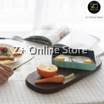 Z PLUS Japanese Tamago Egg Non Stick Maifan Stone Frying Pan Free Silicon Shovel Spatula