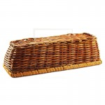 Z PLUS Fern Tray Key Organizer Home Decoration Gift Basket (Rectangular)(25cm x 10cm) - Brown