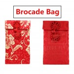 Brocade Bag S Chinese Stitching Gift Pouch Wallet